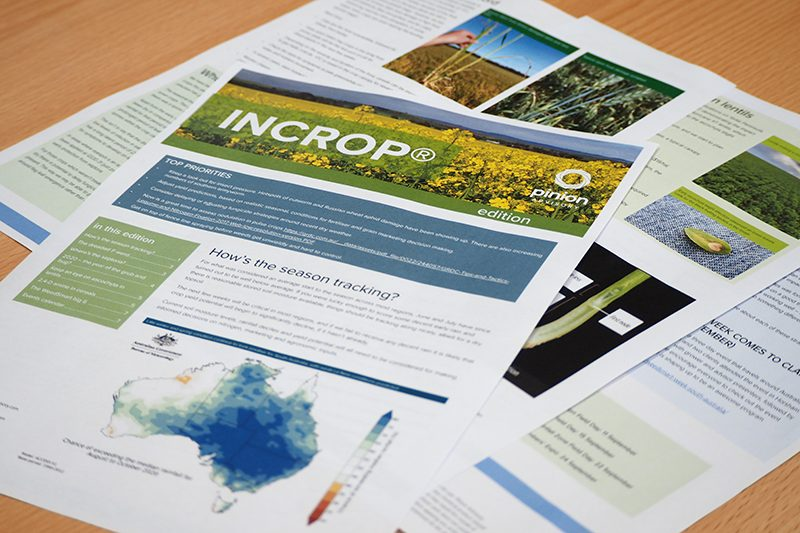 Agronomy - InCrop